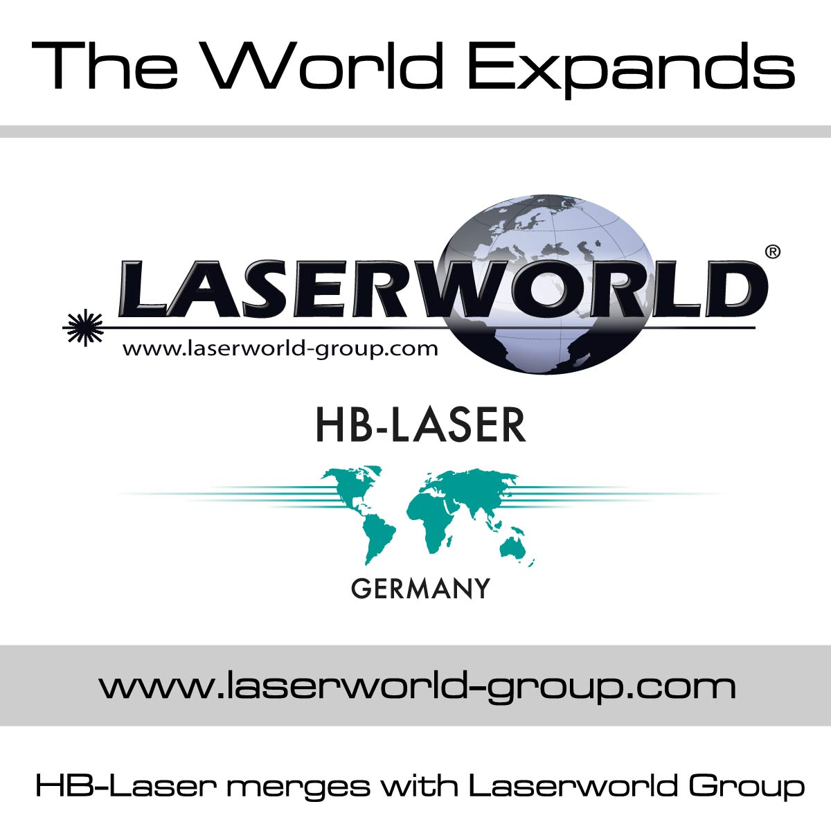 HB-Laser merges with the Laserworld Group