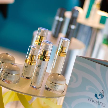 Moana skincare with marine glycans from red seaweed launching at Planet Organic