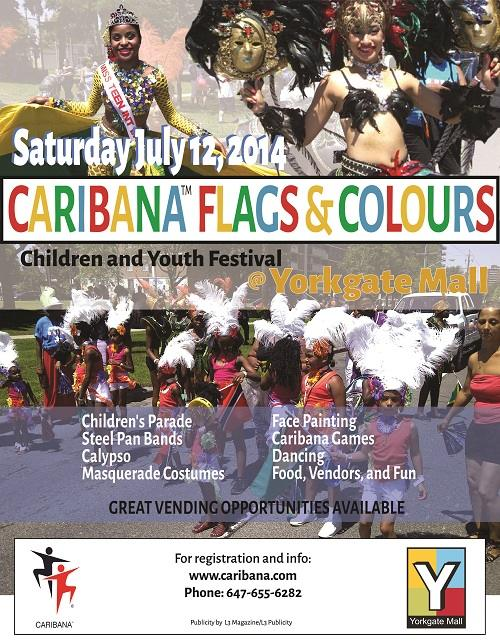 Small - Caribana Flags and Colours _Poster_Front-0