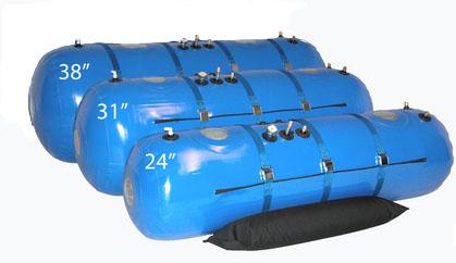"Class 4 Hyperbaric Chamber 24"" , 31"", 38""."