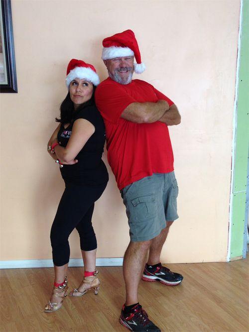Mike Barber and Alethia Alvarez