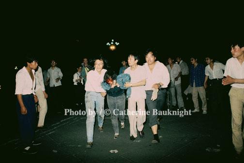 Tiananmen Square Massacre, Beijing China 1989