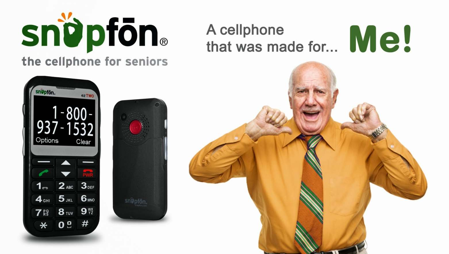 Snapfon - Best Cell Phones for Seniors with Plans