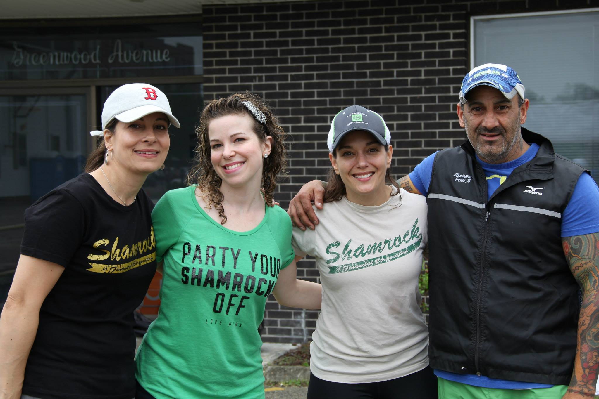 Over 100 runners came out to support the first annual Shamrock Charity 5K.