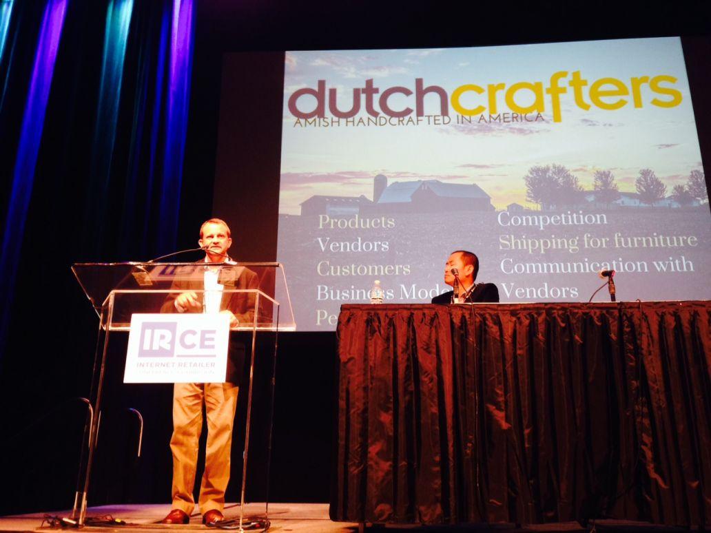 CEO Jim Miller speaks at IRCE 2014
