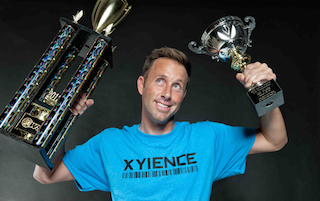 XYIENCE Power to Win Team Member Paul Pugliesi (photo credit: Just Bridle)