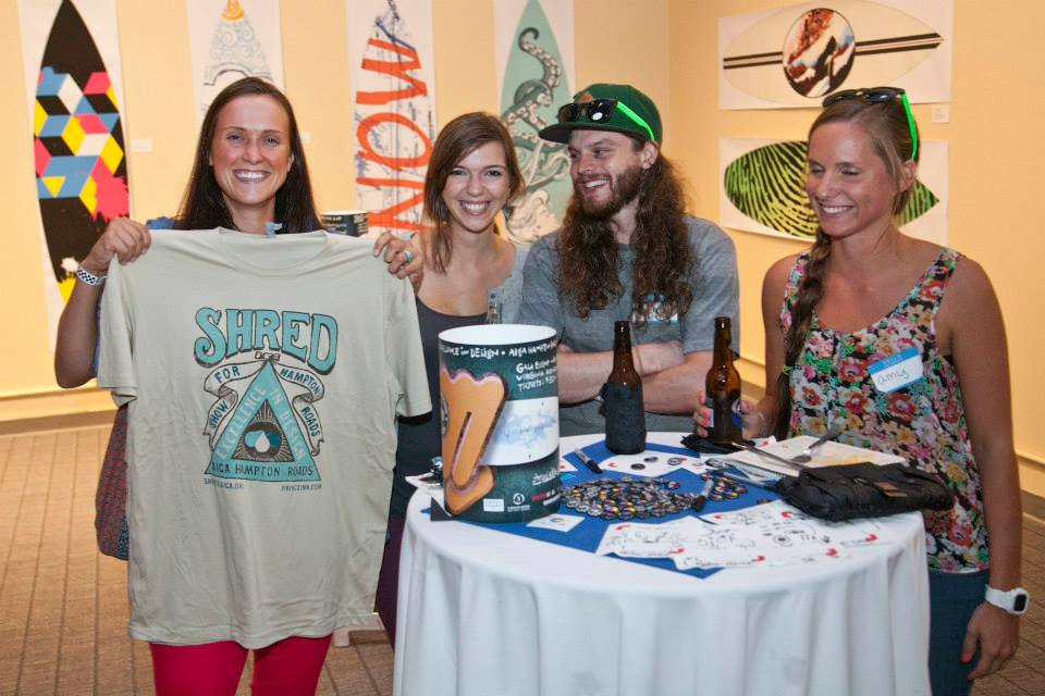 SHRED 2013 featured giveaways including a custom shirt by Prince Ink