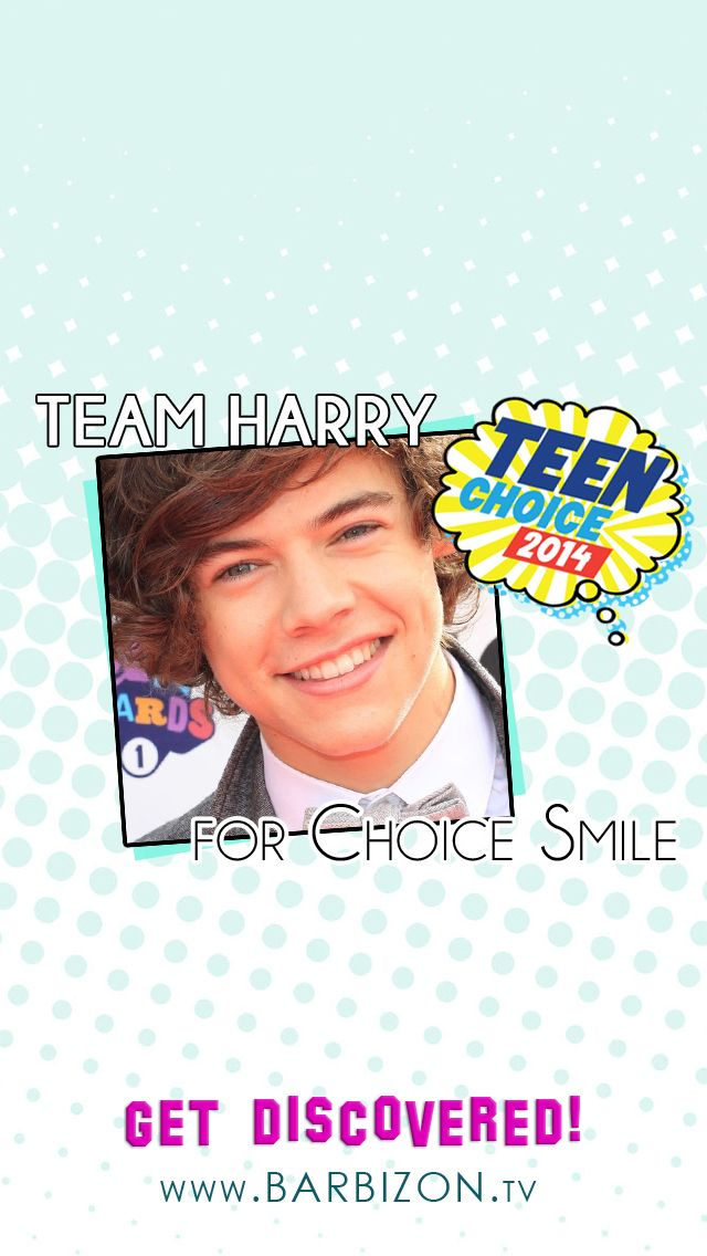 2013 Choice Smile winner Harry Styles
