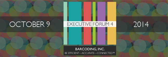Join Barcoding, Inc. for the 4th Annual Barcoding and RFID Executive Forum