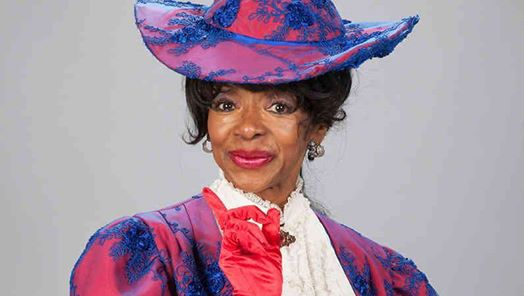 "Actress Jonelle Allen as ""Dolly Levi"" in revival of ""Hello Dolly"""