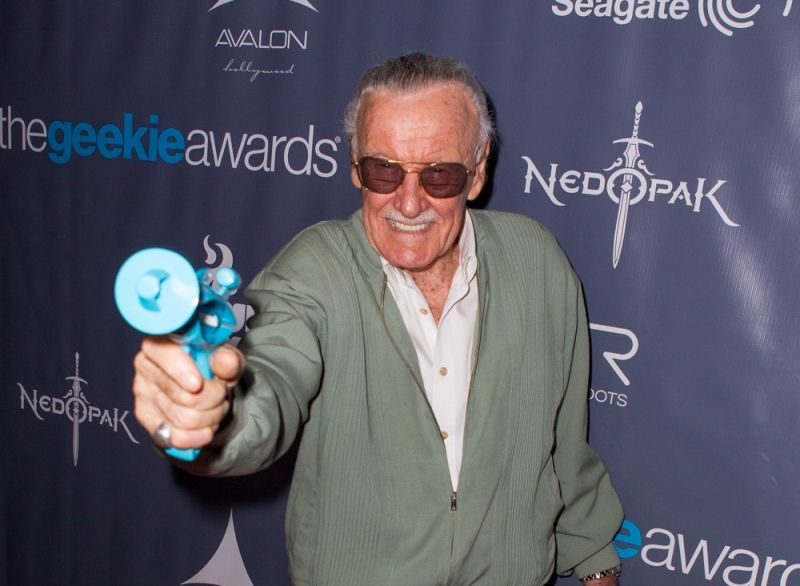 Stan Lee at 2013 @TheGeekieAwards - Photo By @JoeLesterPhotos