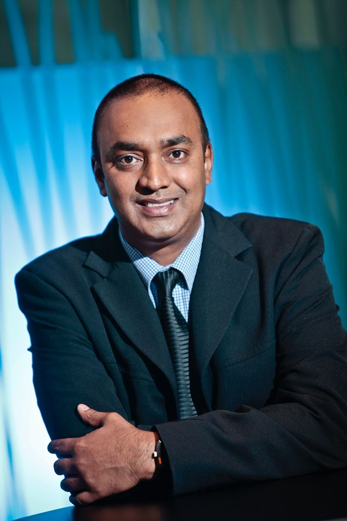 Rajan Gungiah, Business Leader for Digital Appliances at Samsung Electronics SA
