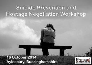 Suicide Prevention and Hostage Negotiation workshop