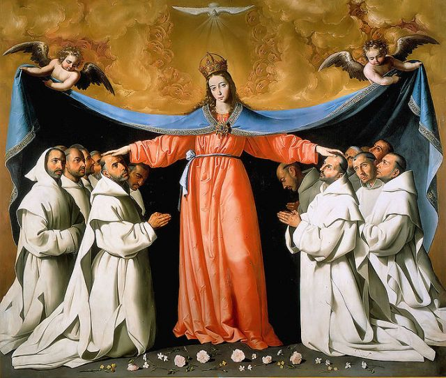 Our Lady of Mercy and the Friars of the Order of Mercy