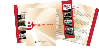 Betts Company Introduces New Corporate Brochure