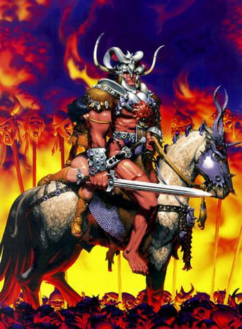 Barbarian San Antonio Comic Con VIP Exclusive Lith