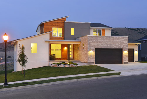 The Zero Home, (Bellasol at Rosecrest) in Herriman, Utah