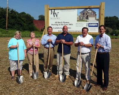 Hunters Way Groundbreaking Ceremony