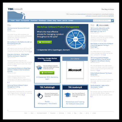 TBKConsult.com Home Page