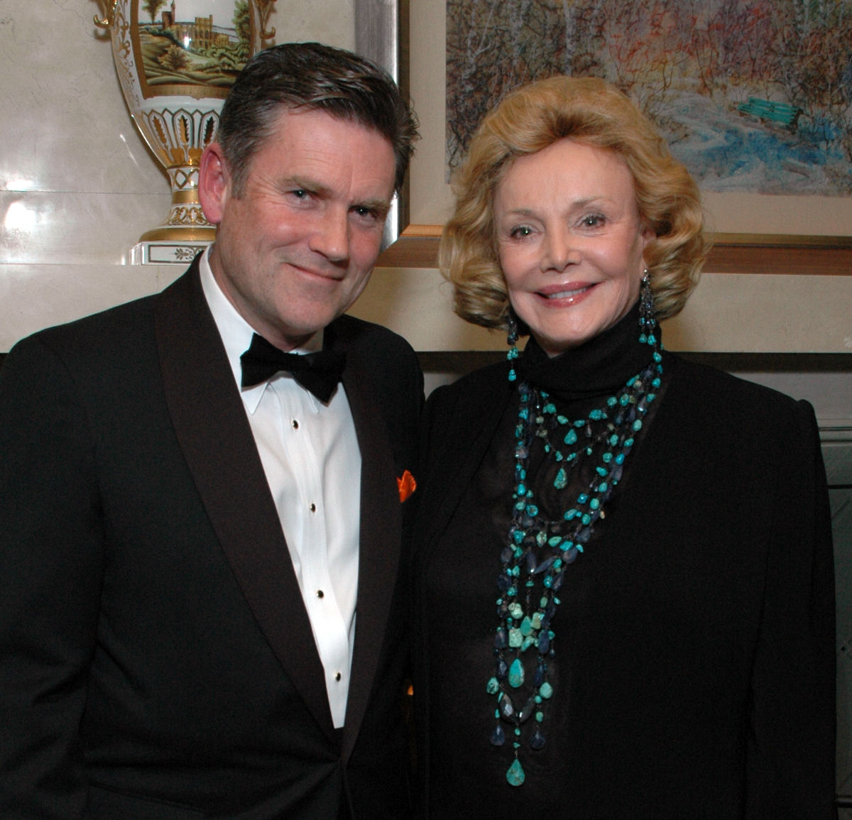 Dave Halston With Barbara Sinatra