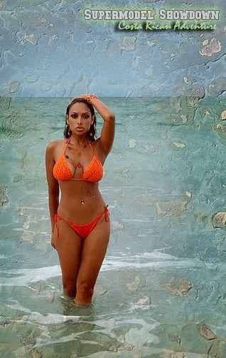 """Nadia Dawn host of """"Supermodel Showdown, Costa Rican Adventure"""