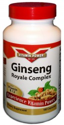 Ginseng Royale Complex Capsules by Vitamin Power