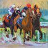 """Trifecta"", oil painting by Darlene Katz"