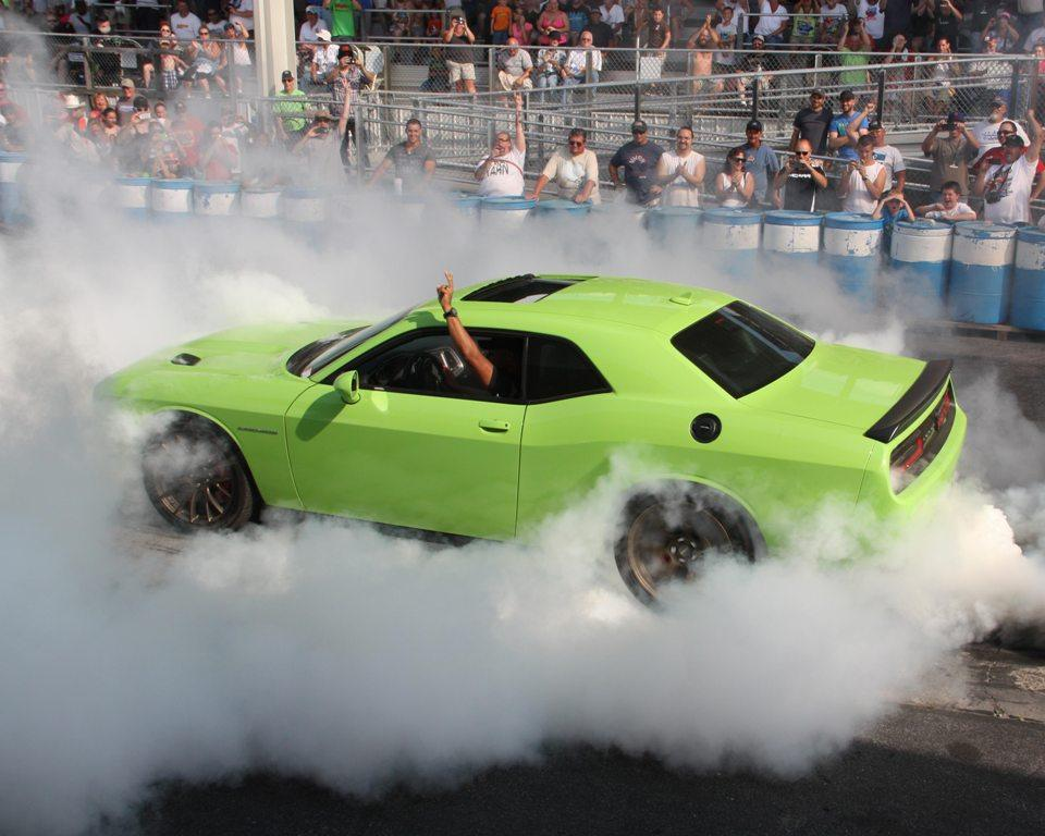 Ralph Gilles Burnout - 2015 Dodge Hellcat