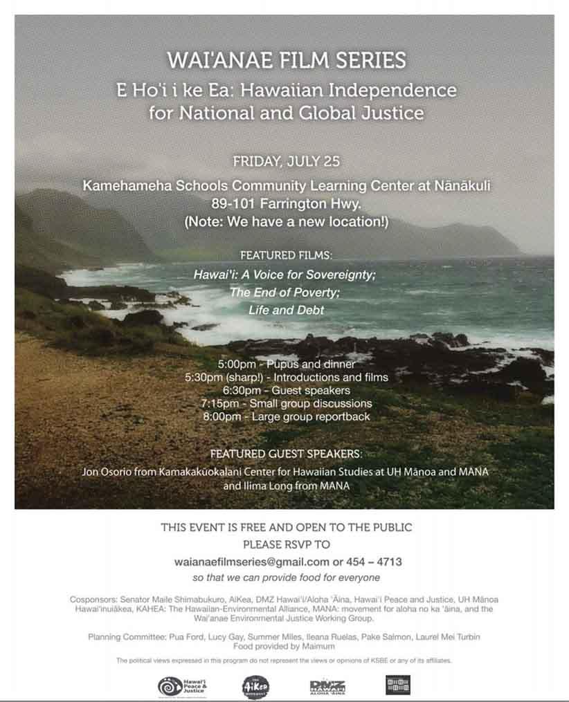 WaianaeFilmSeries.Flyer