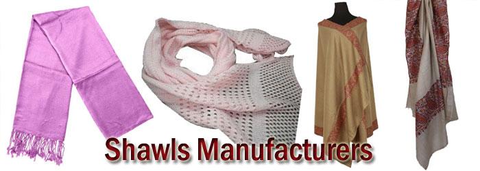 Shawls-Manufacturers