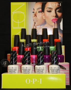 The New OPI Go Neon or Go Nude Collection