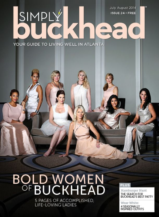 HGTV International Realtor, Christian Ross for Simply Buckhead Magazine Atlanta