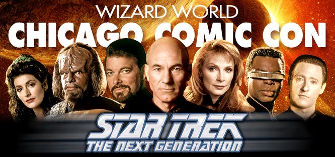 Star Trek TNG Panel