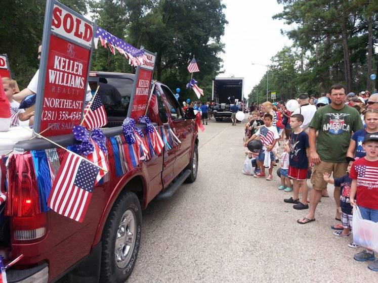 Keller Williams Realty Northeast July 4th Parade