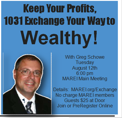 1031 Exchange at MAREI