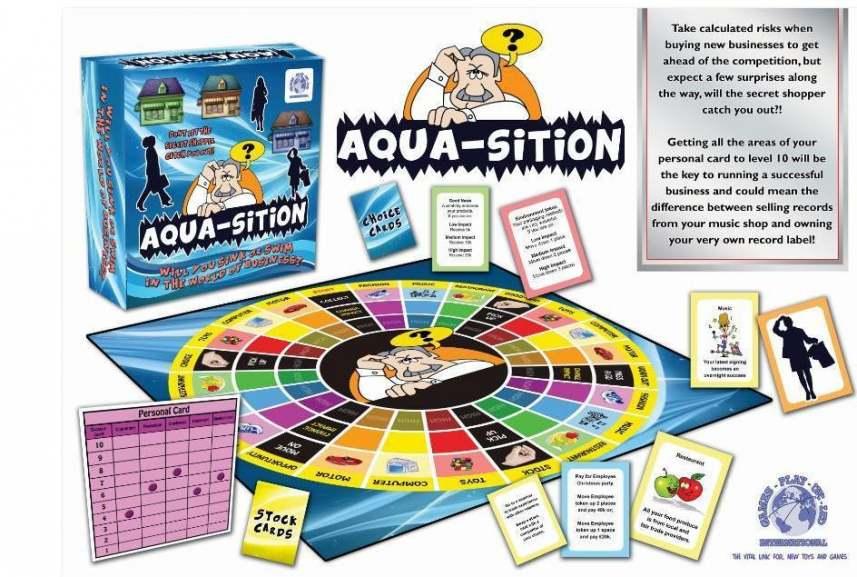 Aqua-sitions.