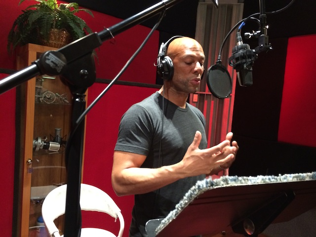 "Grammy winning musician Common records voice over for ""It's About the People"""