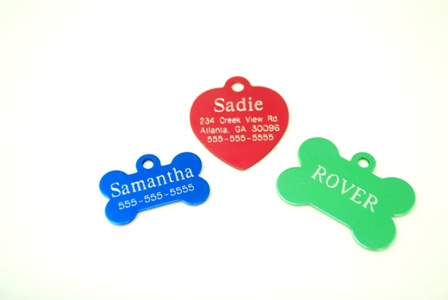 Pet Tags-Personalized with Gravograph Laser
