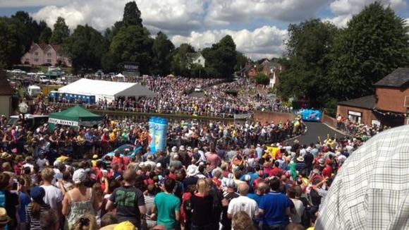The Tour de France event in Finchingfield was a roaring success