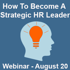 How To Become A Strategic HR Leader Webinar