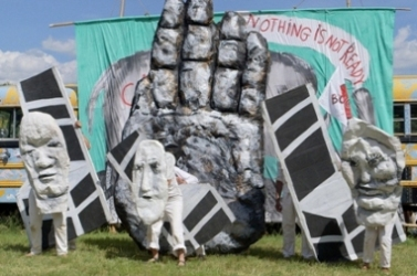 "Bread & Puppet Theater: ""The Nothing Is Not Ready Circus"""