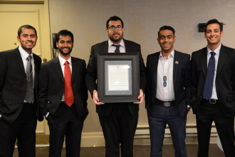 Beta Chi Theta National Board with Proclamation