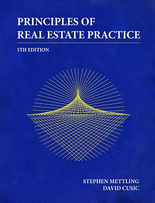 Principles of Real Estate Practice by Mettling and Cusic
