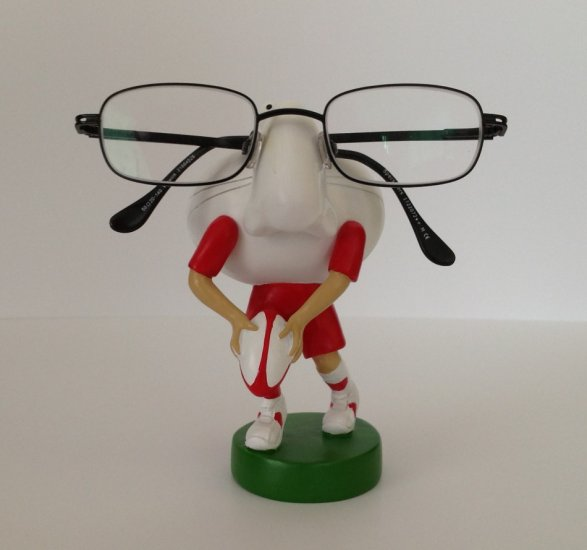 Rugby Eye Glass Holders