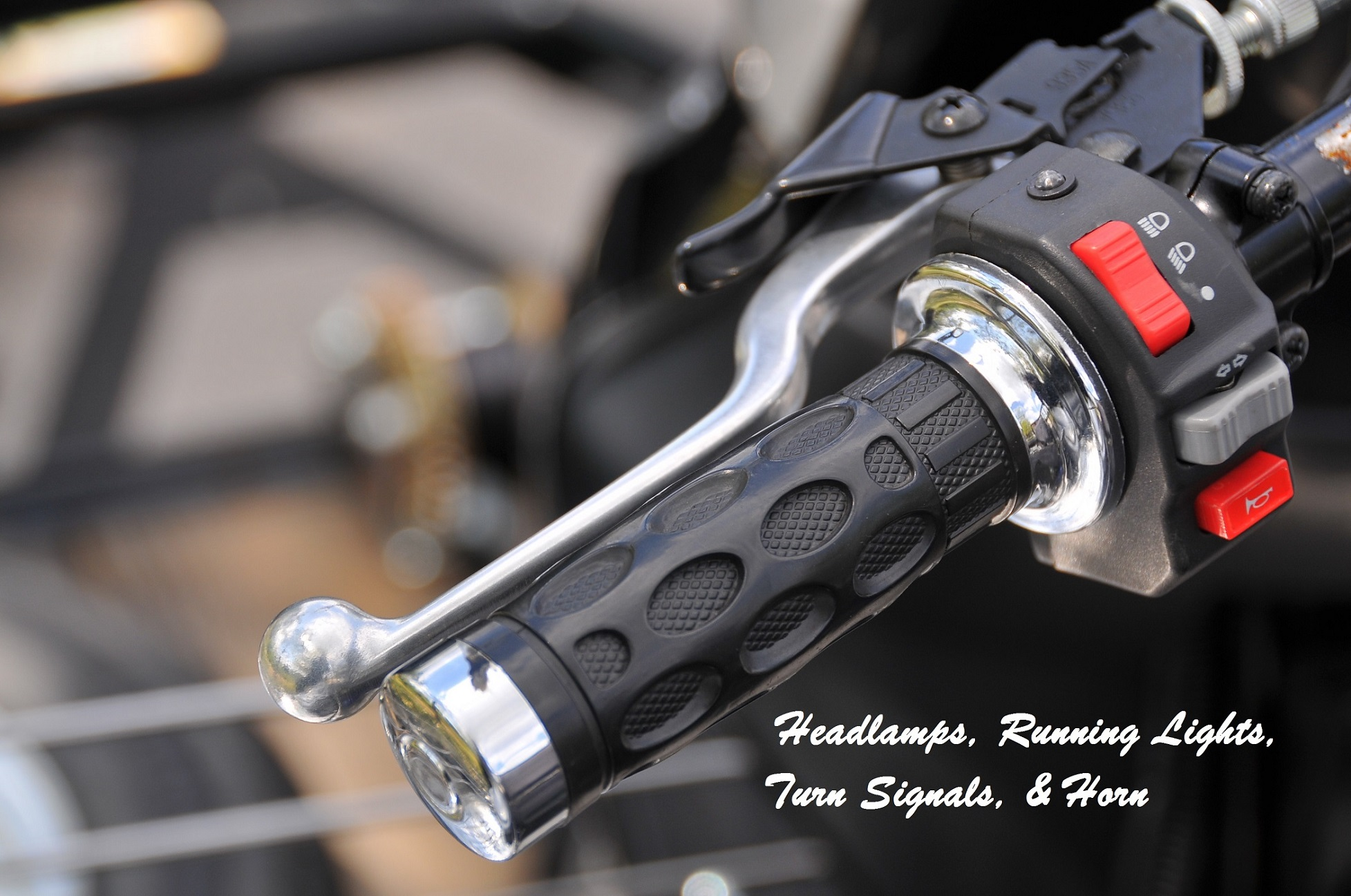 LifeTrike throttle