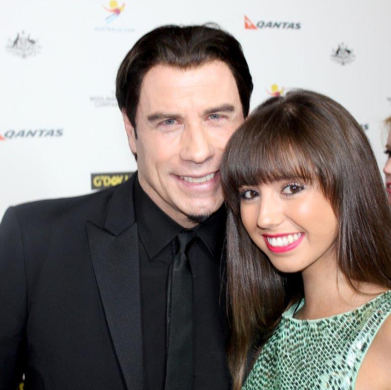 John Travolta interviewed by Krystle McGill 2014
