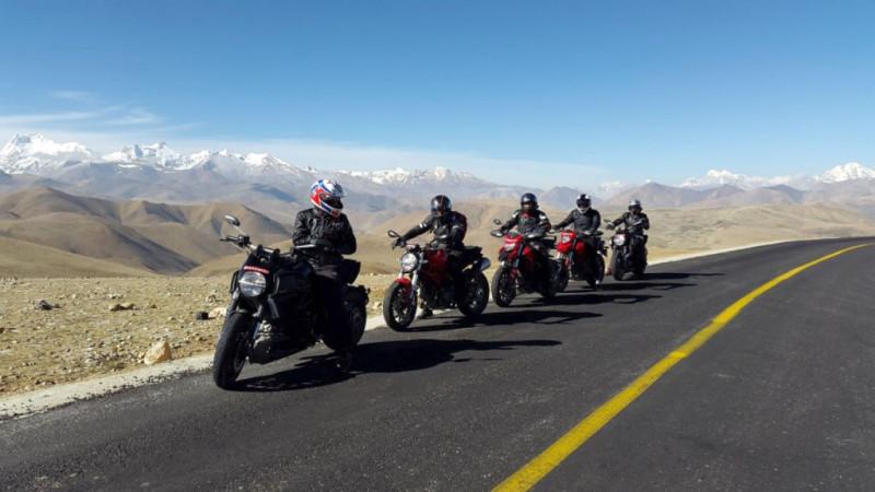 Ducati Everest Challenge 2014