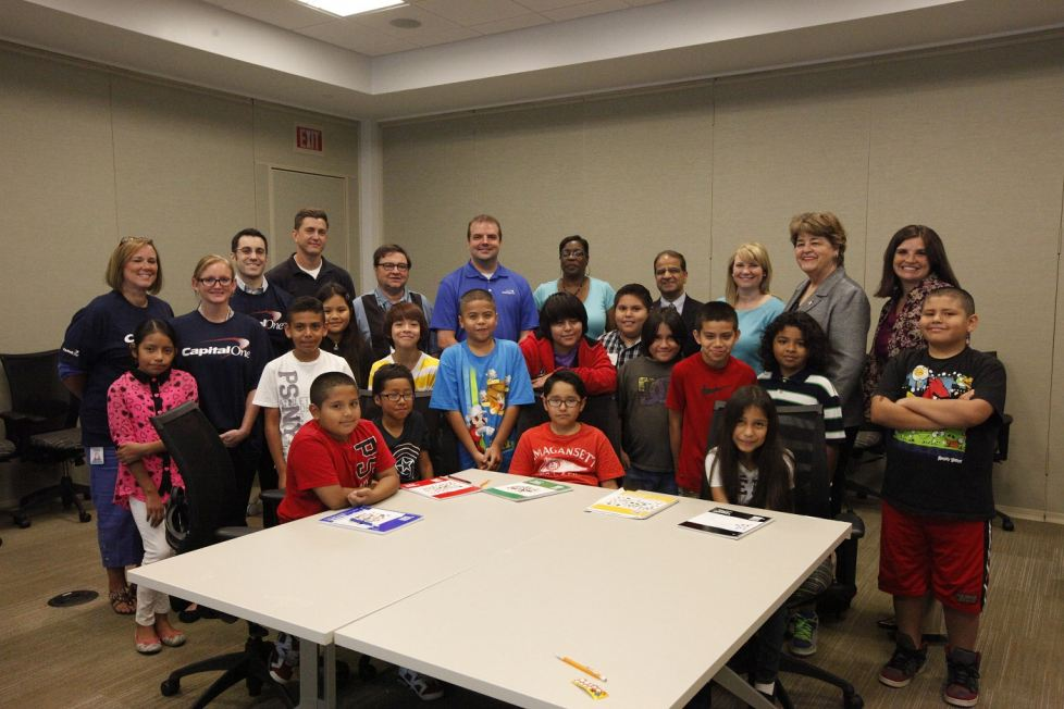 Capital One Hosts Fourth Annual Math Corp Camp