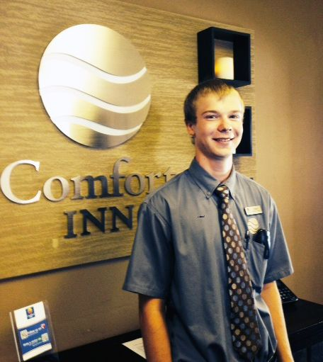 Devin Lynch, 2014-15 Choice Hotels Scholarship Recipient