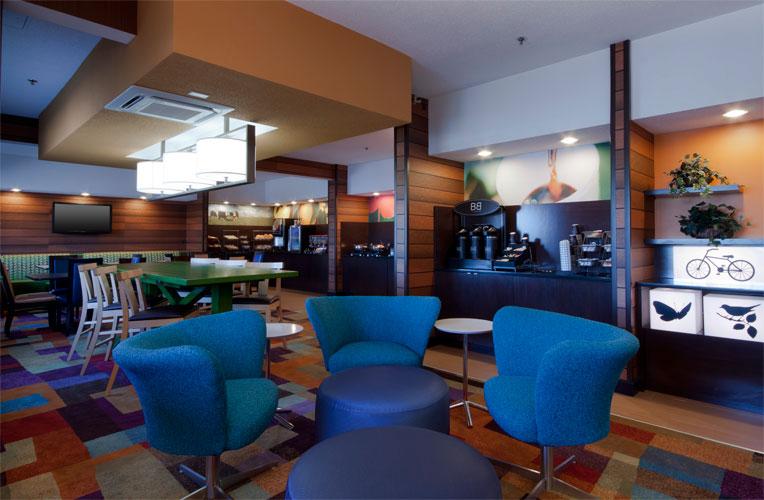 Fairfield Inn Gurnee Lobby
